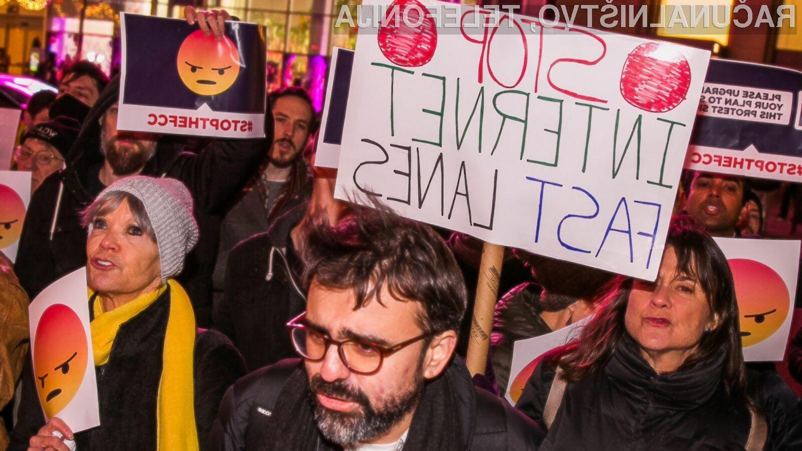 Odprt internet stvar preteklosti?