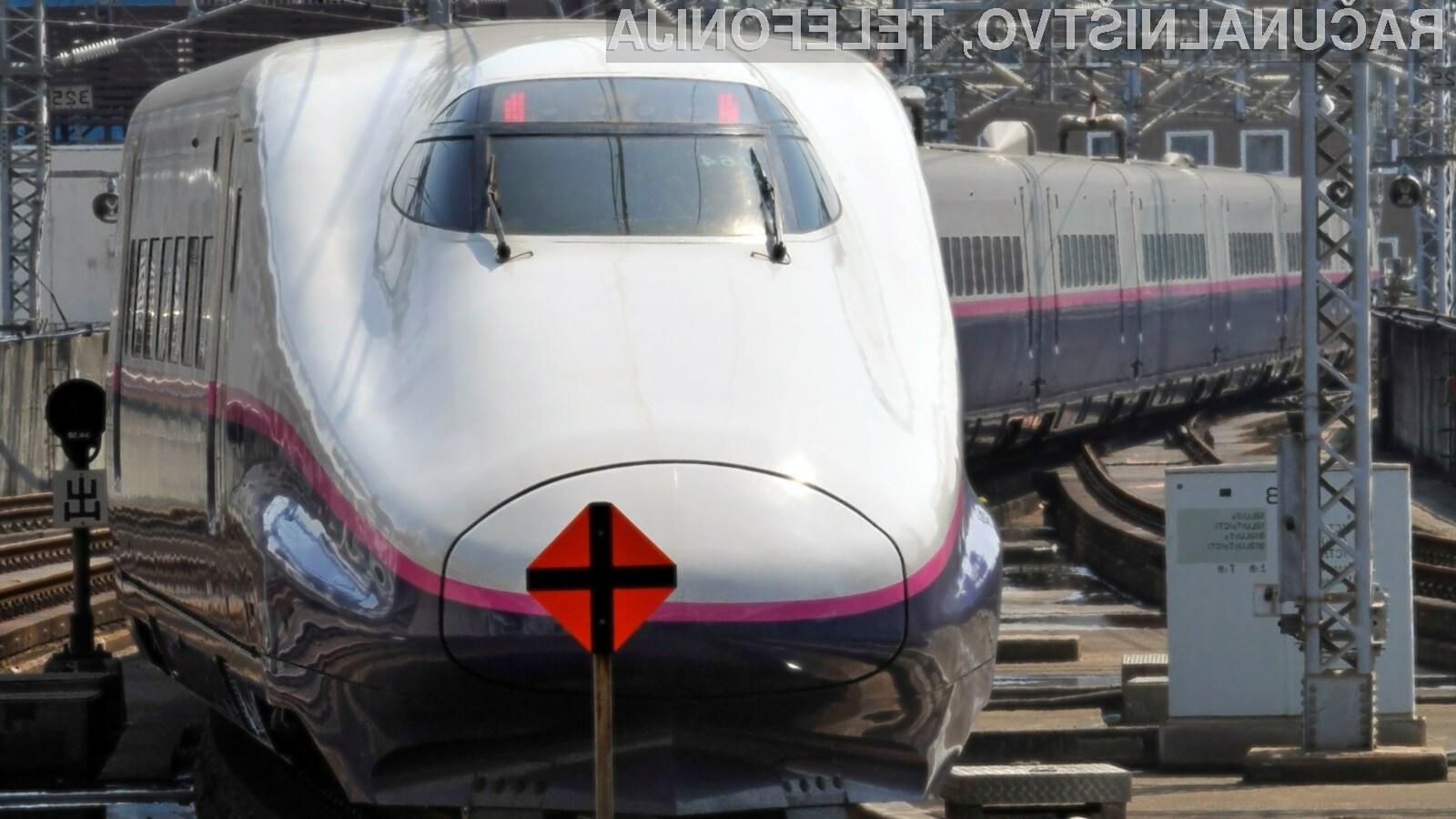 Hitrost prenosa podatkov na vlaku preko omrežja 5G je znašala kar 1,7 gigabitov na sekundo.