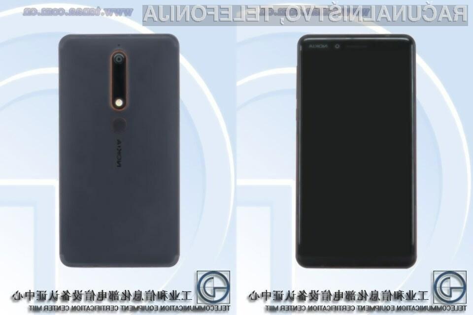 Nova Nokia 6 vsaj na papirju obeta veliko!