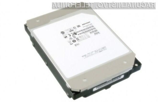 Zanesljivi trdi disk toshiba MGA070ACA lahko shrani do 14 terabajtov podatkov!