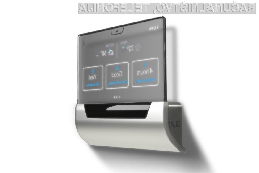 Edina slaba stran pametnega termostata GLASS je relativno visoka cena..