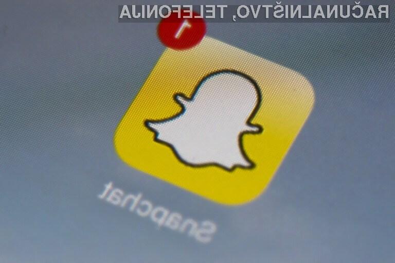 Nepremišljena uporaba Snapchata lahko vodi do hudih oblik odvisnosti!