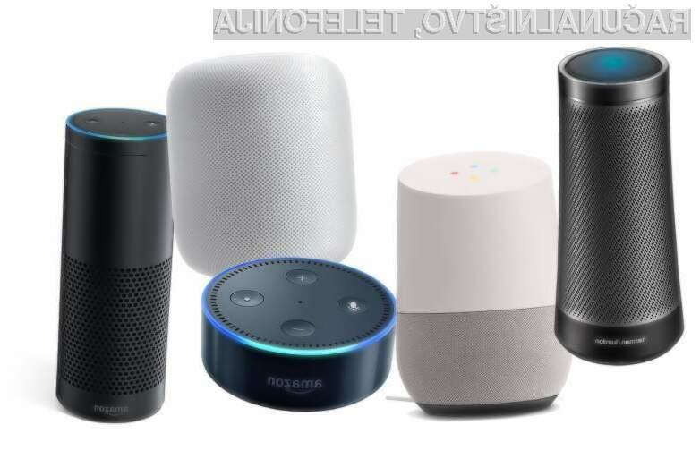 Kar 16 odstotkov Američanov že razpolaga s pametnim zvočnikom!