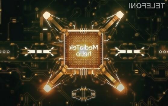 Mobilni procesor MediaTek Helio P70 bo pohitril poceni pametne mobilne telefone.