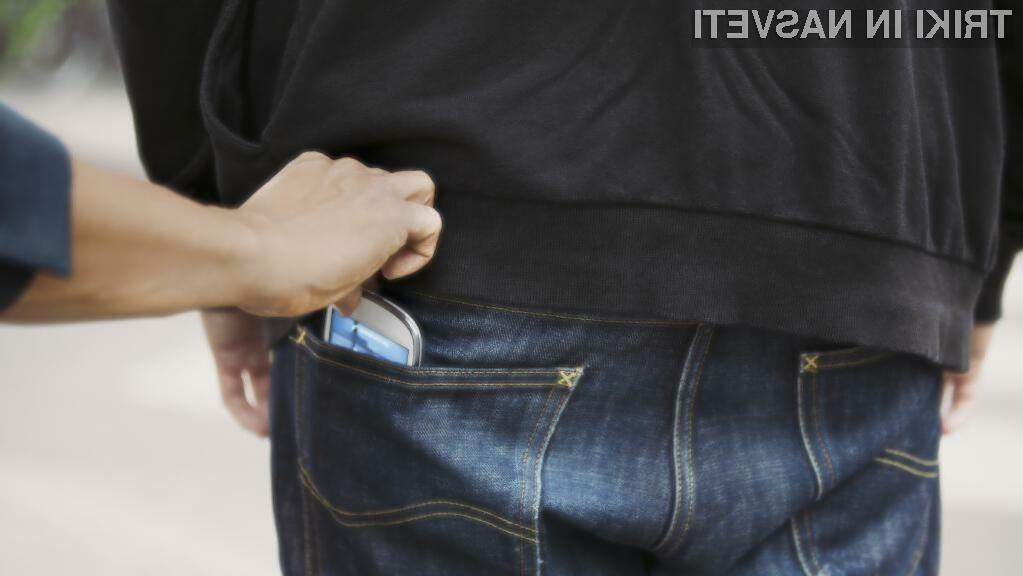 Kriminalci neprestano prežijo na naše mobilne naprave!