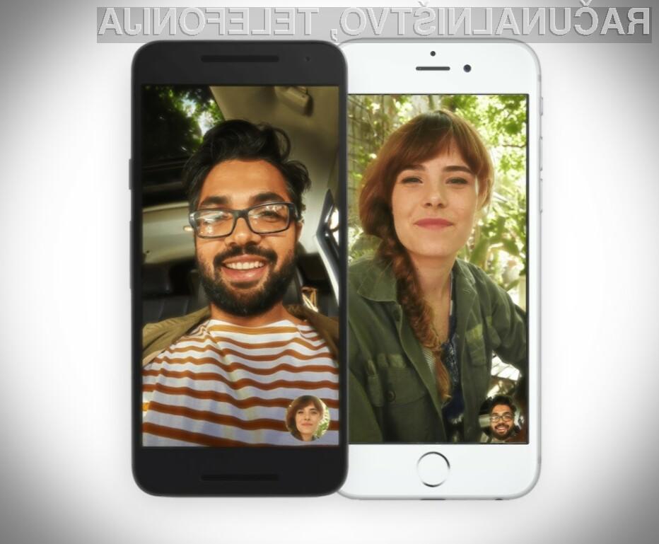 Prenovljena storitev Google Duo omogoča pogovore s stiki, ki nimajo nameščenega ustreznega programa.