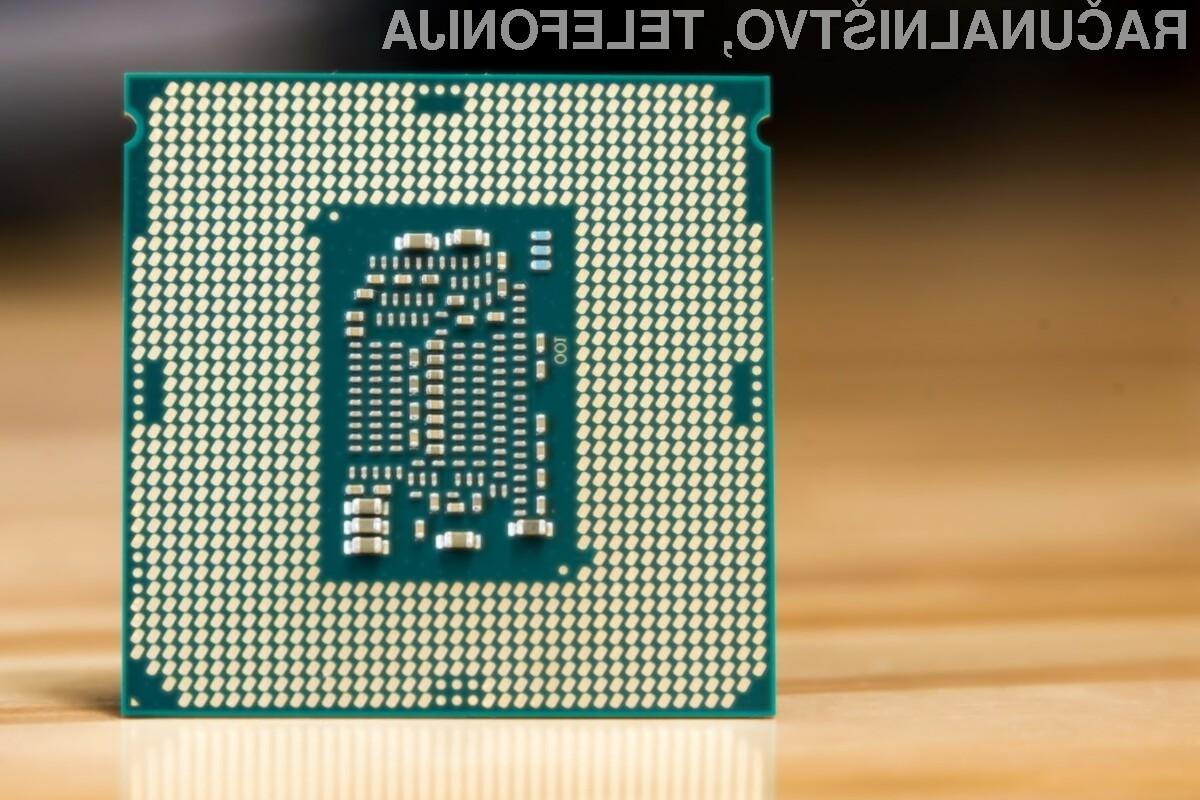 Prvi povsem varni procesorji Intel bodo naprodaj šele v drugi polovici letošnjega leta.