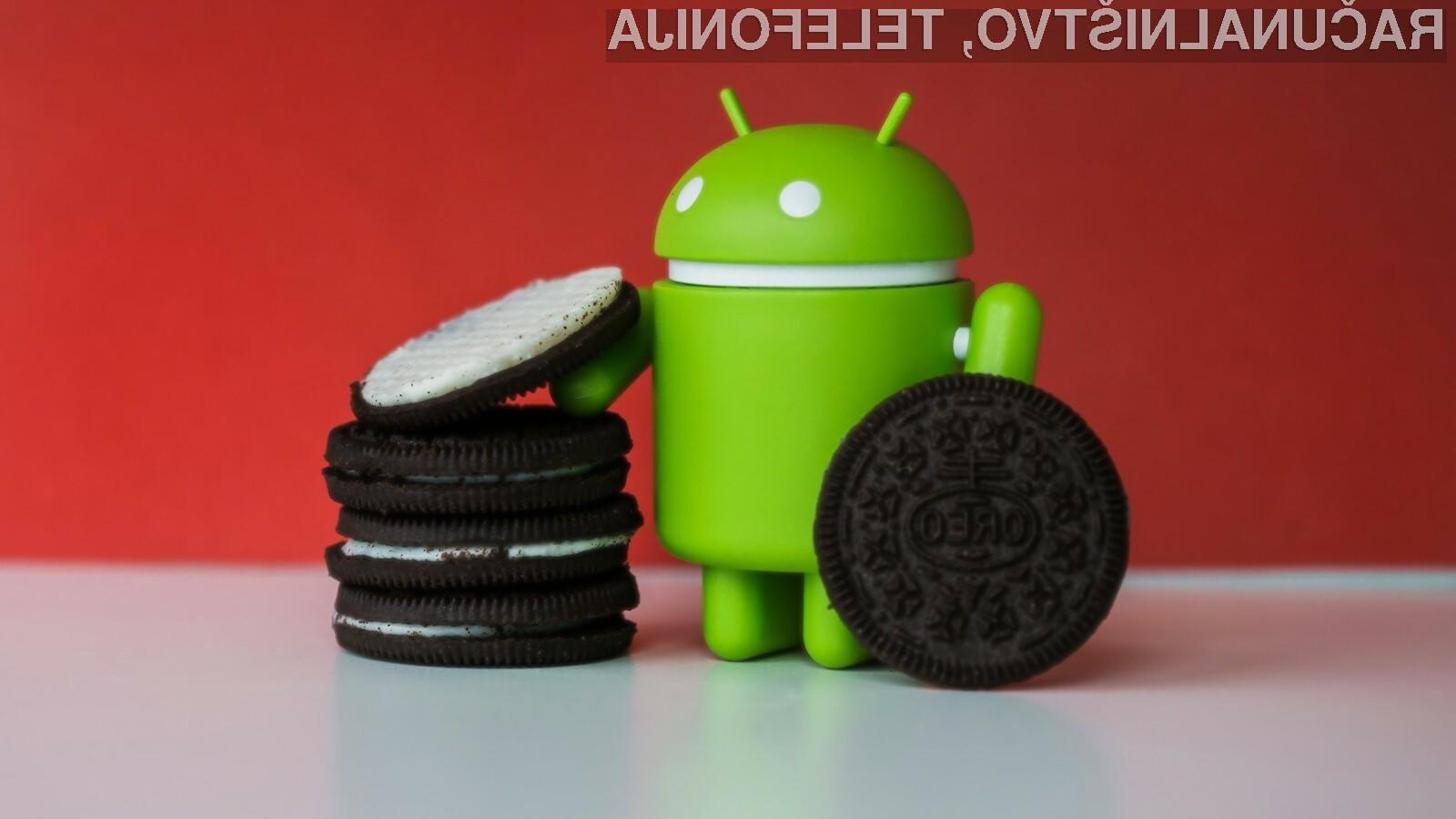 Android Oreo v dobra pol leta ni prilezel še niti do odstotka deleža mobilnih naprav.