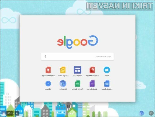Chrome OS tudi za stare računalnike