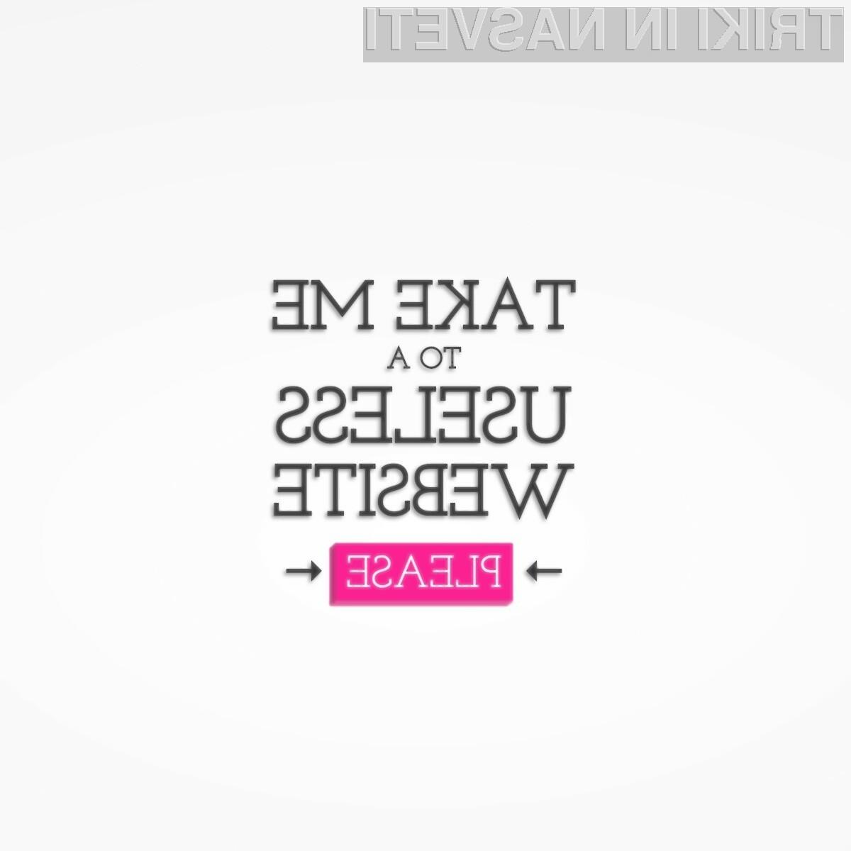 Ta spletna stran je kot nalašč za izgubljanje časa