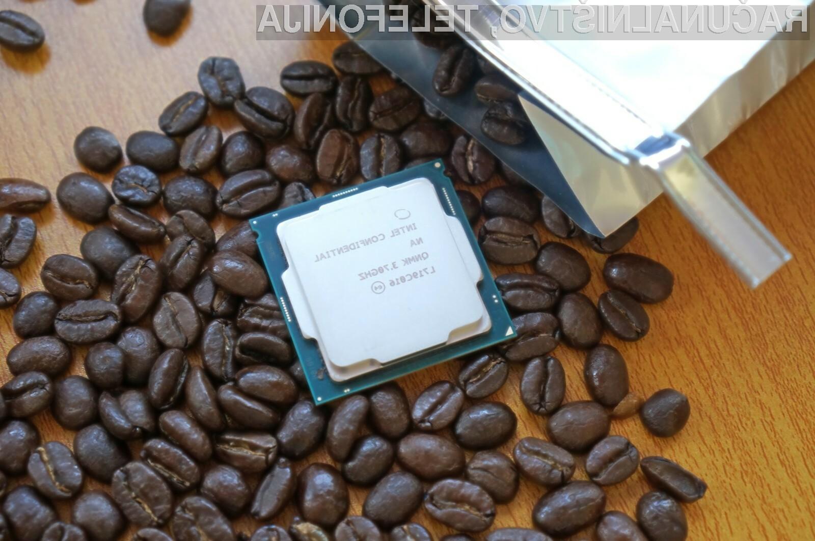 Intel bo uporabnike osebnih računalnikov poskušal prepričati z novimi procesorji družine Coffee Lake.