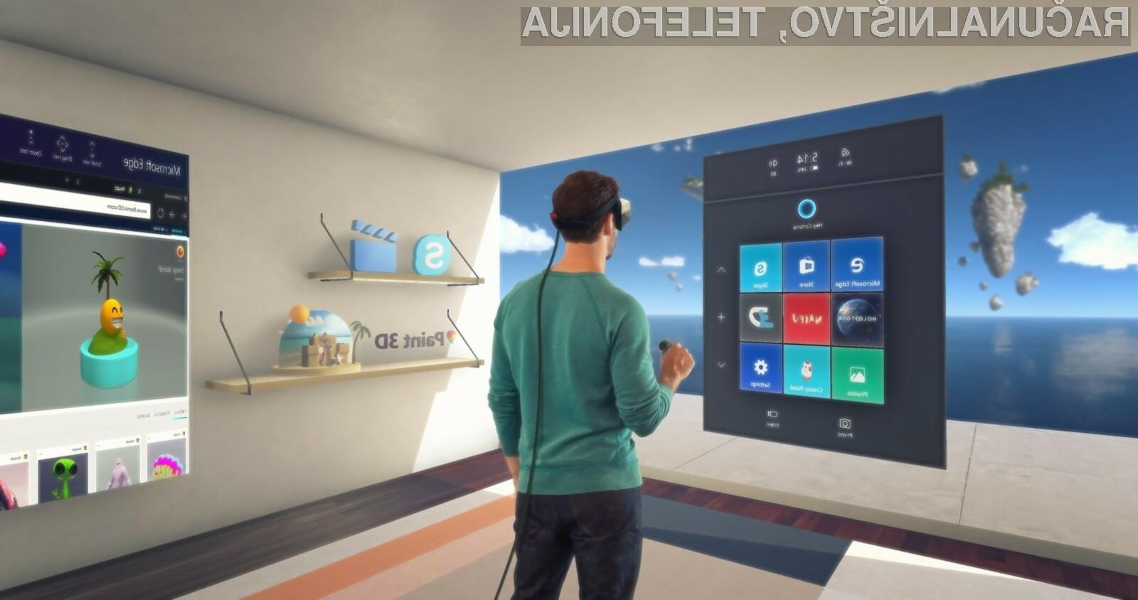 Cene potopnih naglavnih kompletov za mešano resničnost Windows Mixed Reality naj bi se letos občutno znižale!