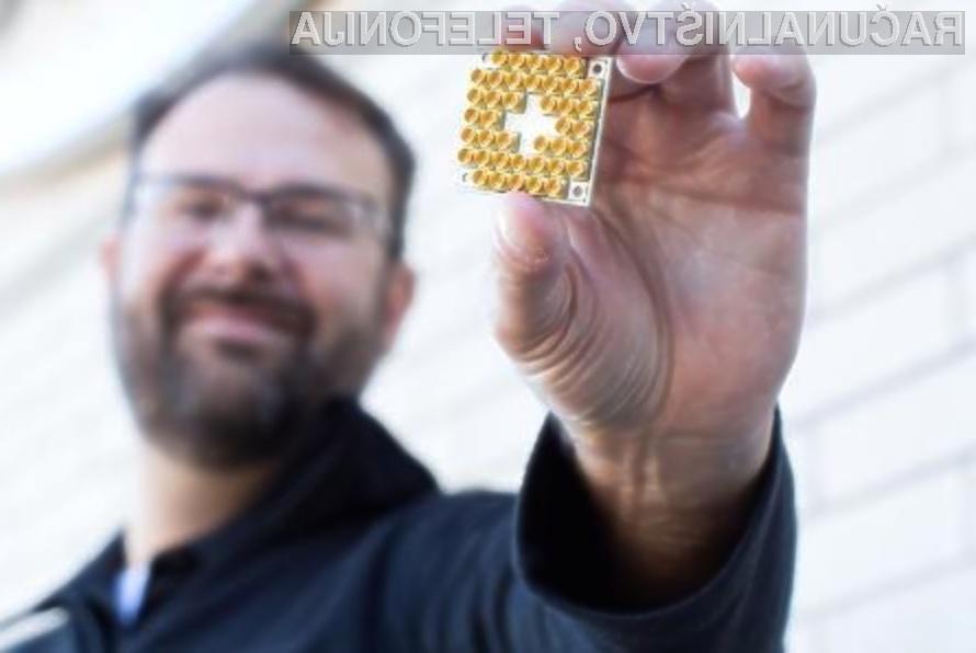 Zanimiv procesor za kvantni računalnik podjetja QuTech temelji na osnovi običajne silicijeve rezine.