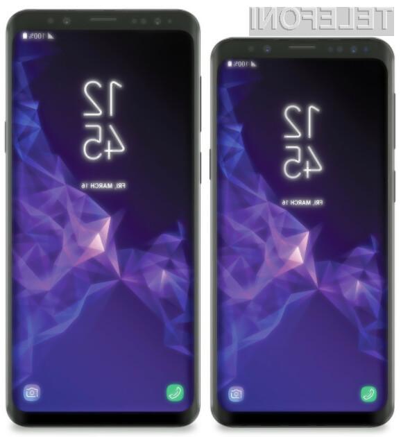 Tako naj bi izgledal najnovejši Samsungov pametni telefon
