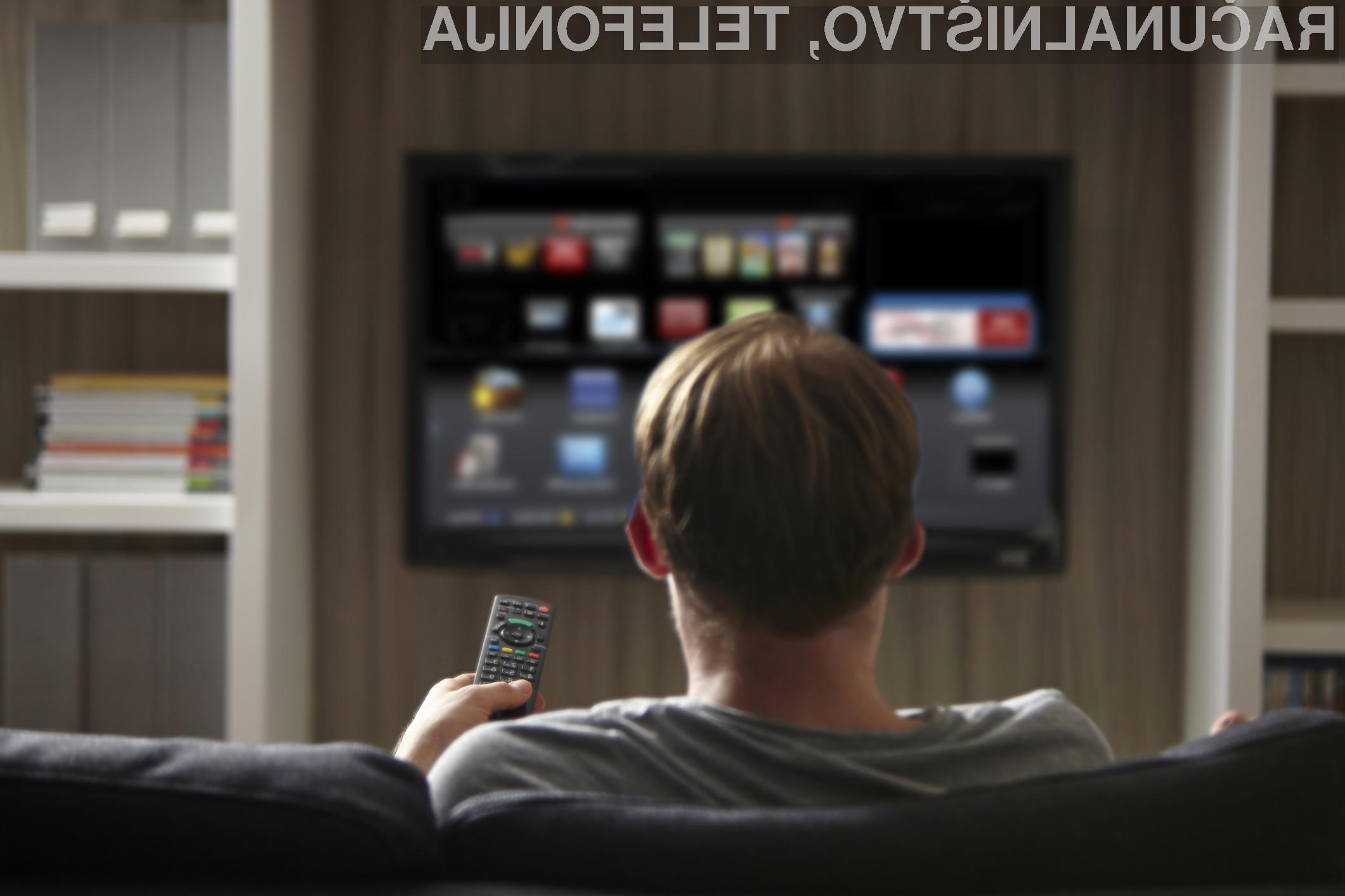 Pametni televizorji lahko zelo grobo posežejo v našo zasebnost!