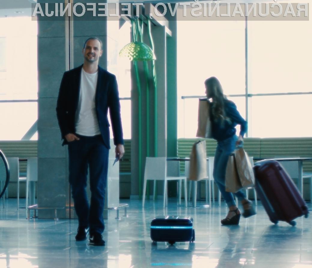 Povpraševanje po pametnem kovčku Travelmate Robotics je nadvse visoko!