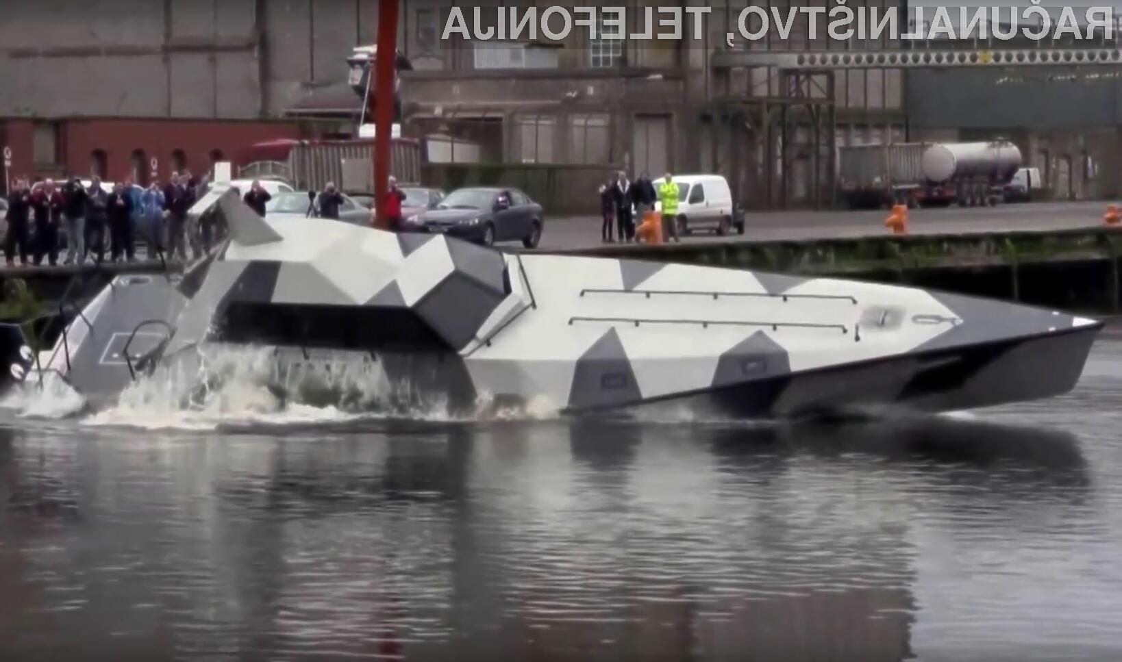 Tu je prva ladja, ki je ni mogoče potopiti!