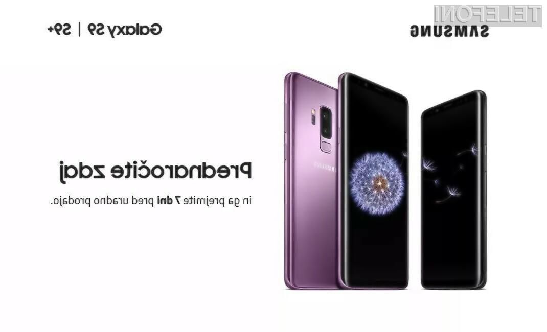 Samsung Galaxy S9 in S9+ že na voljo za prednaročilo