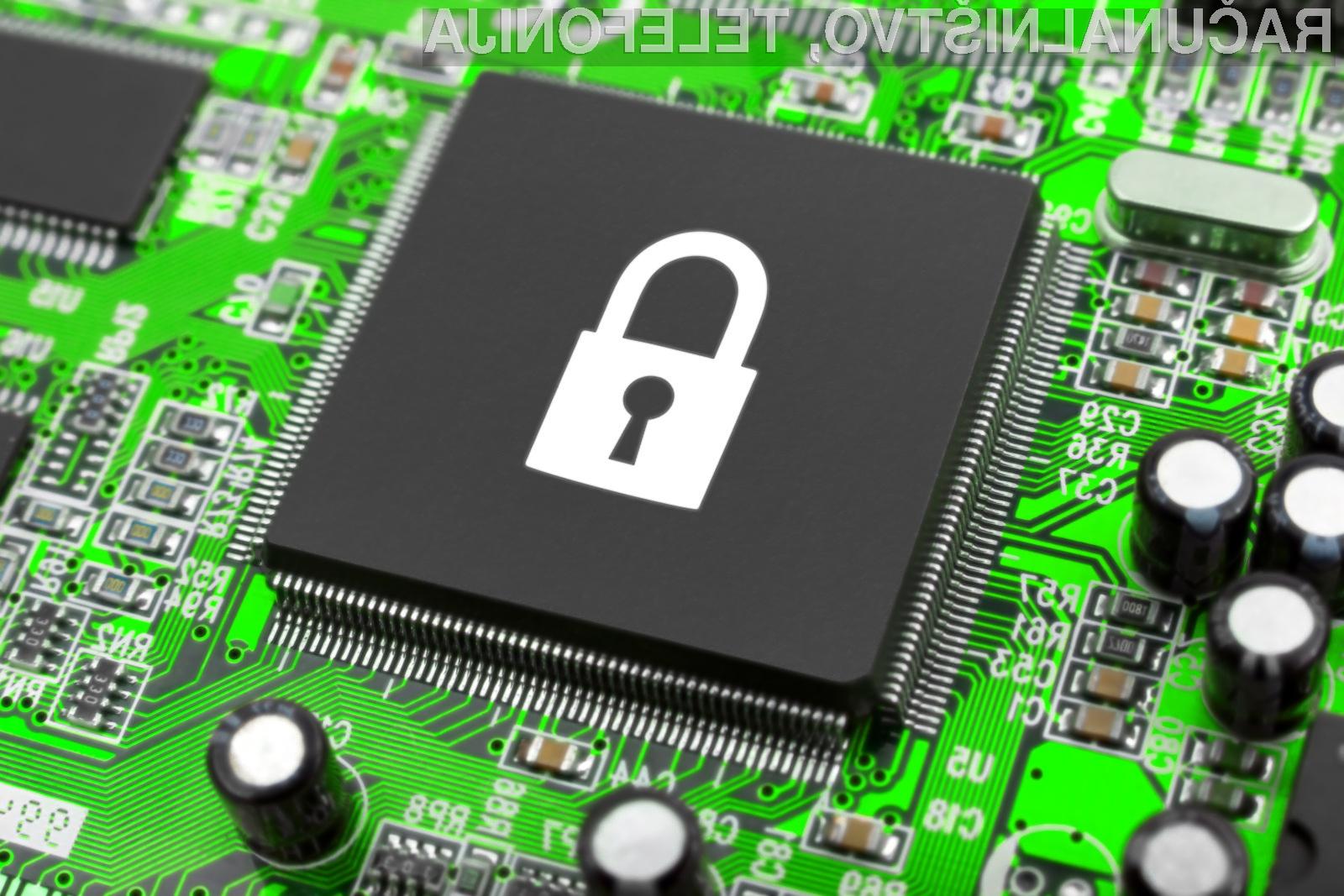 Podatke z naprav interneta stvari bi lahko zaščitili z ustreznim šifriranjem.