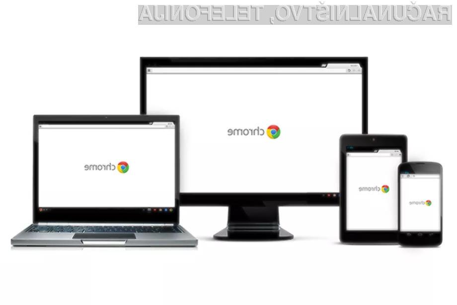 Novost, ki jo prinaša Chrome