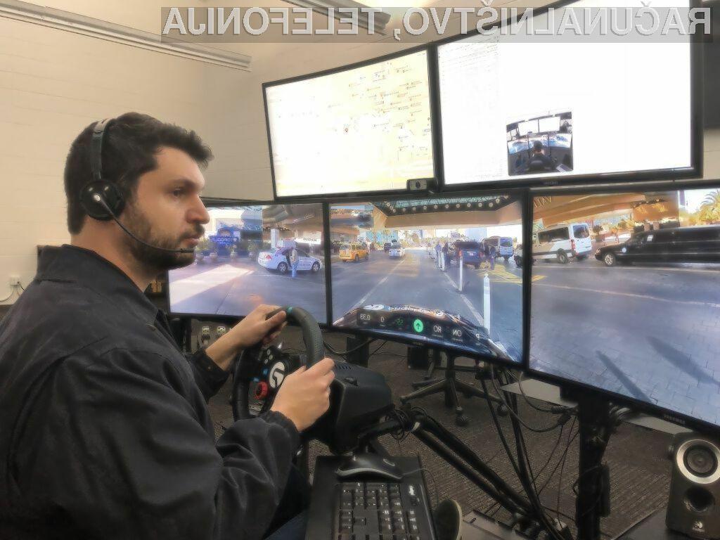 Namesto voznika bo pri samodejno vozečih vozilih prisoten sistem za oddaljeno upravljanje z avtomobilom.