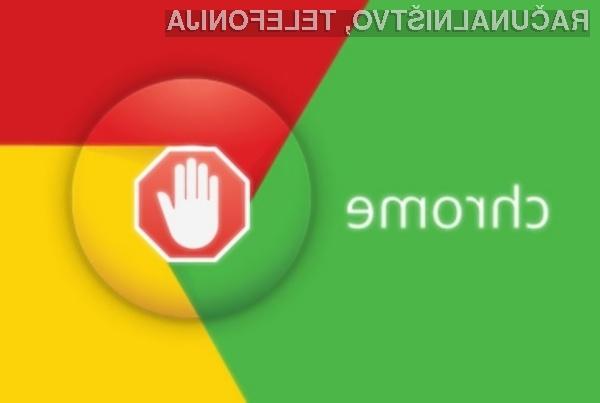 Google v najnovejši 64-bitni različici spletnega brskalnika Chrome samodejno blokira nadležne spletne oglase.