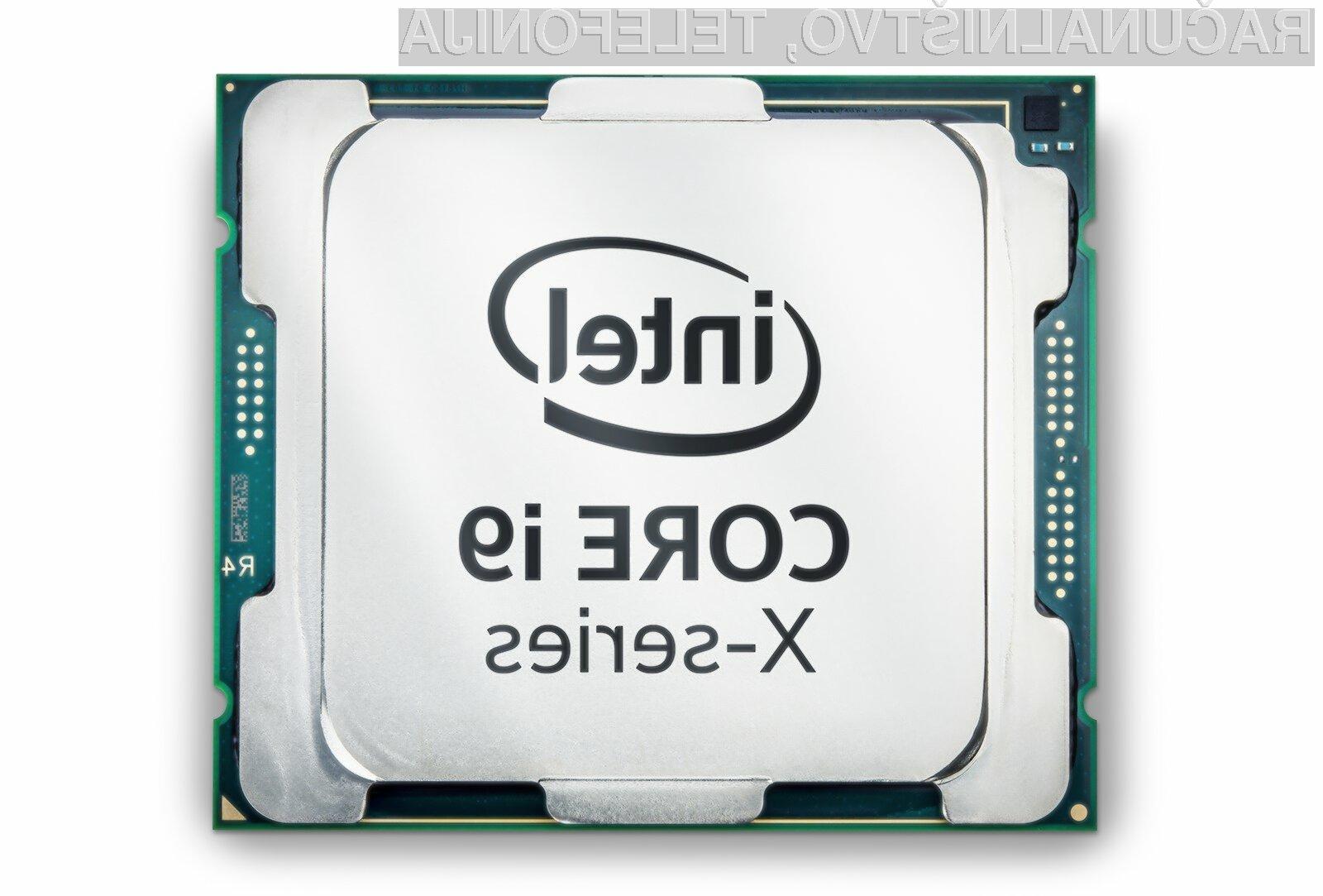 Novi procesorji Intel bodo precej zmogljivejši od zdajšnjih.