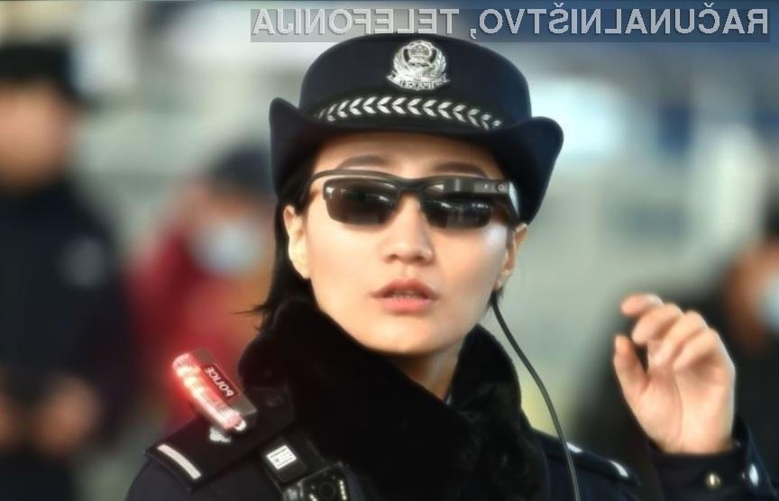 Z uporabo pametnih očal bo kitajska policija lažje prepoznala kriminalce na begu.