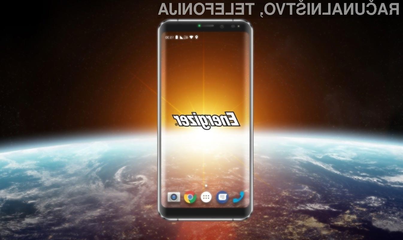 Pametni mobilni telefon Energizer Power Max P16K Pro bomo polnili le dvakrat mesečno.