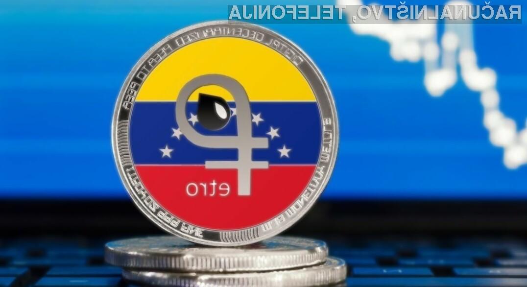 Venezuela presenetila z lastno kriptovaluto