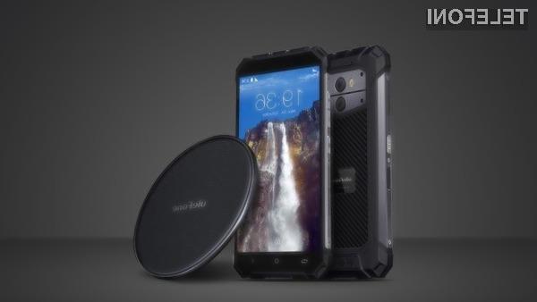 Ulefone Armor X bo prvi  robusten pametni mobilni telefon z možnostjo brezžičnega polnjenja.