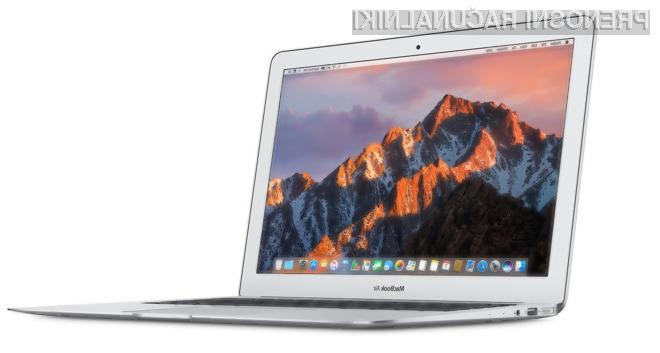 Kompaktni prenosnik MacBook Air naj bi kmalu bil deležen konkretne prenove.
