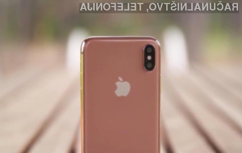 Novi iPhone X še v zlati različici?