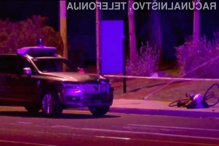 Uber se je pogodil z prvo žrtvijo samovozečega avtomobila