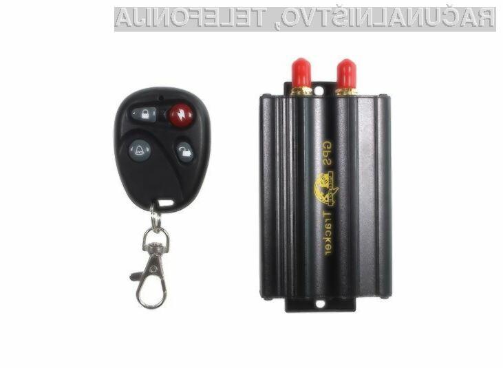 Sledilna naprava TK103B GPS SMS GPRS je poceni, a nadvse koristna.