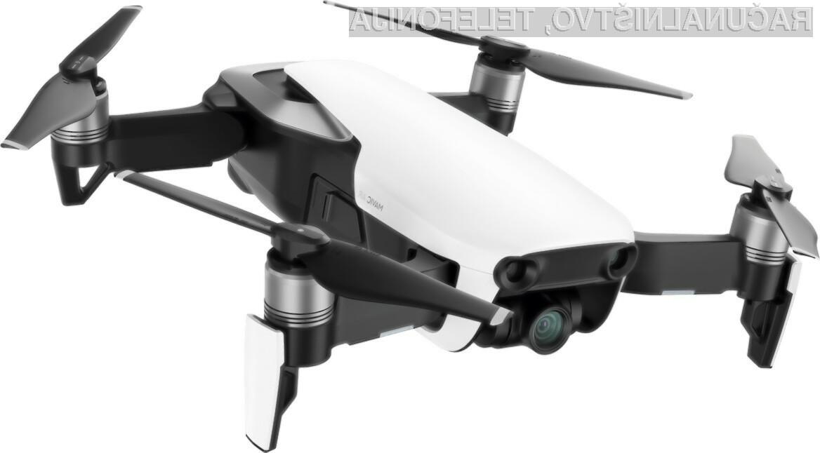 Eden najboljših dronov DJI Mavic Air lahko na spletni strani trgovca TomTop dobimo po zelo ugodni ceni.