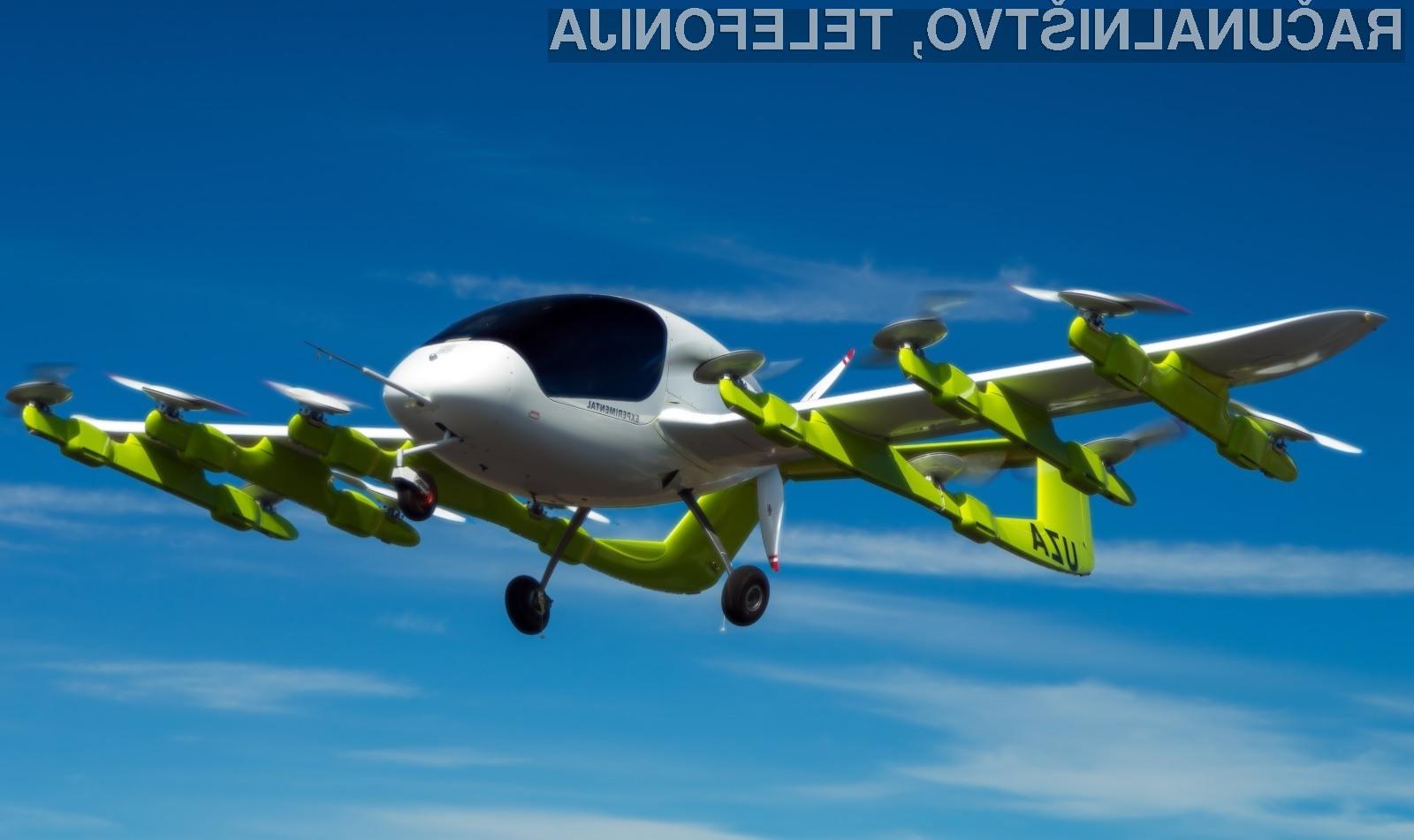 Električni leteči taksiji postajajo vse bolj zanimivi in uporabni!