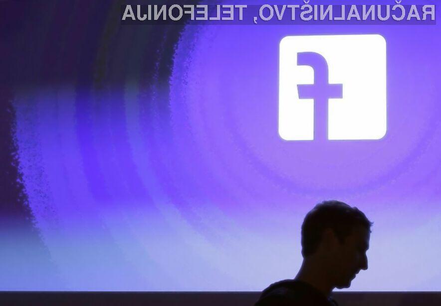Facebook (spet) kriv nepooblaščene rabe osebnih podatkov