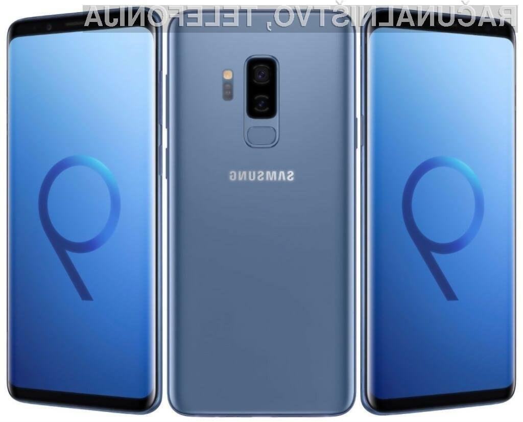 Skupni materialni stroški proizvodnje pametnega telefona Samsung Galaxy S9 + znašajo zgolj preračunanih 307 evrov.