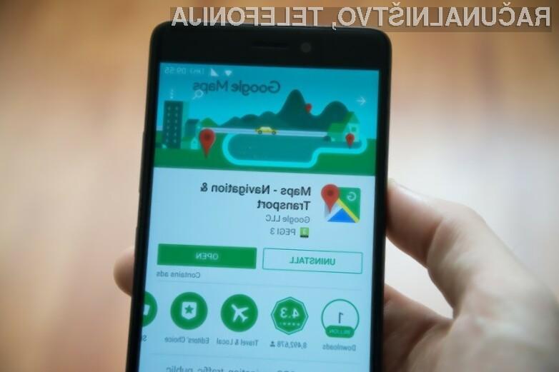 Novi Google Maps za Android prinaša štirinajst različnih bližnjic do najpogosteje uporabljenih možnosti.