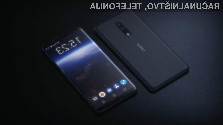 Pri telefonu Nokia 9 naj bi kar steklo zaslona prebralo naš prstni odtis.
