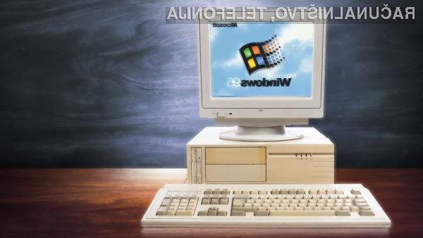 Zagonska melodija operacijskega sistema Windows 95 je še vedno zanimiva.