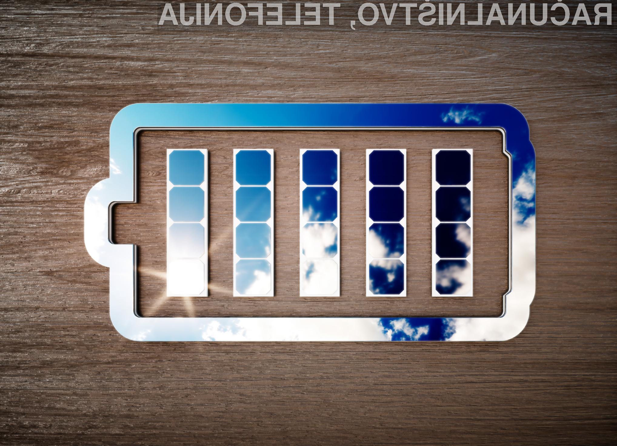Sončne celice bi lahko kmalu kar prišili na priljubljeno oblačilo in z njimi polnili naše mobilne naprave.