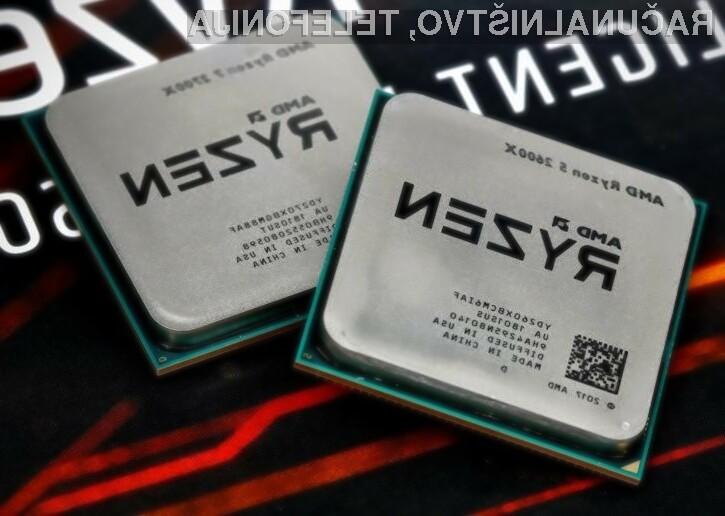 Druga generacija procesorjev AMD Ryzen bo konkurenčnemu Intelu zagotovo še bolj zagrenila življenje!