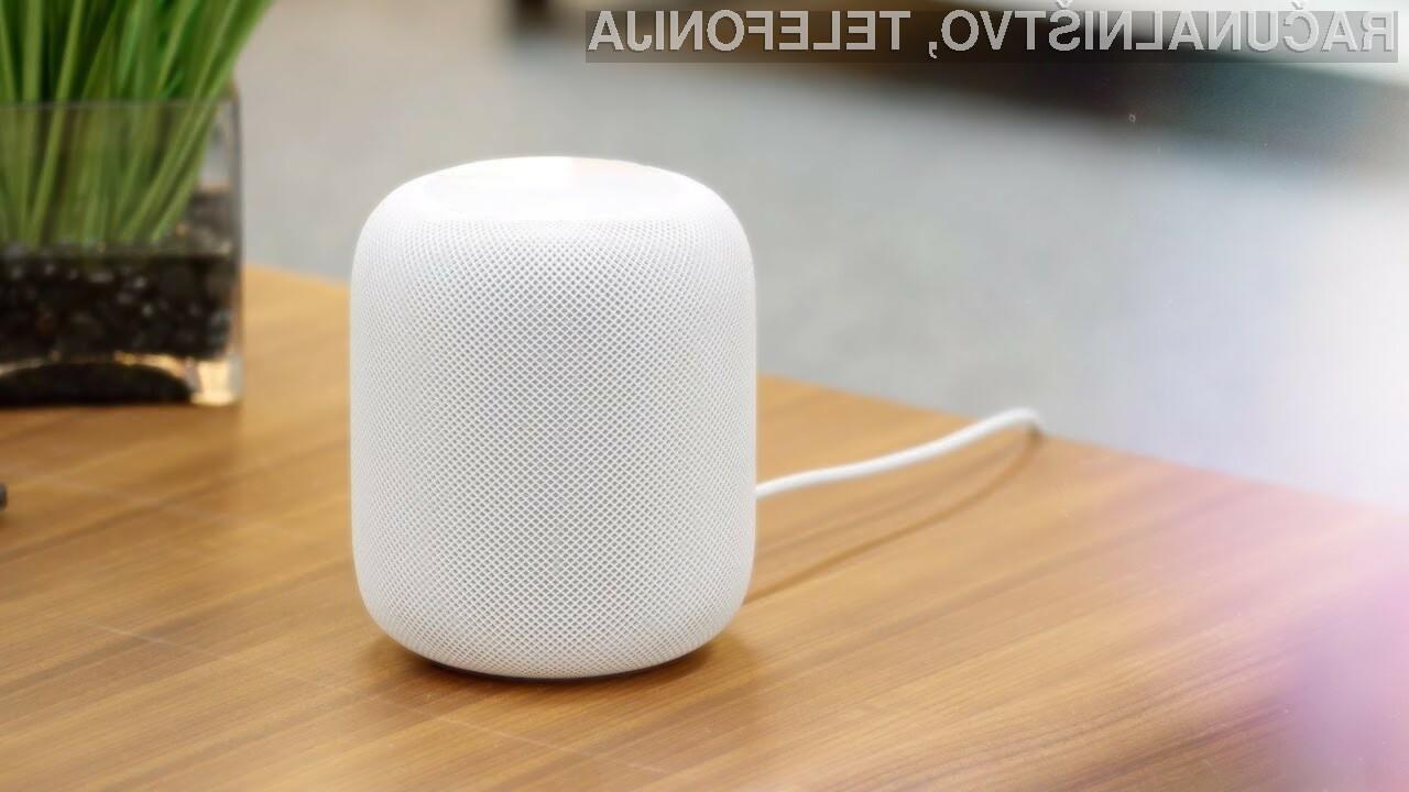 Povpraševanje po pametnih zvočnikih Apple HomePod naj bi bilo porazno!