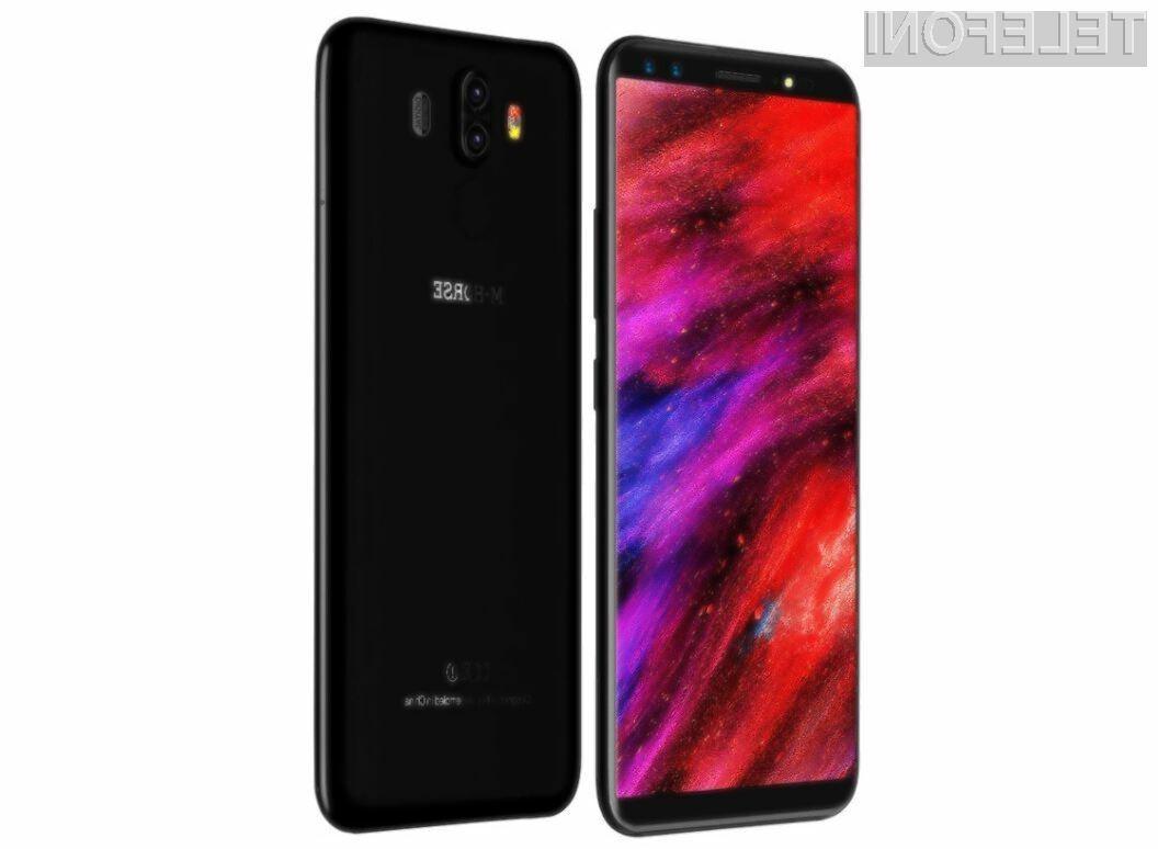 Zanimiv telefon M-HORSE Pure 3 4G je lahko vaš že za 124,49 evrov.