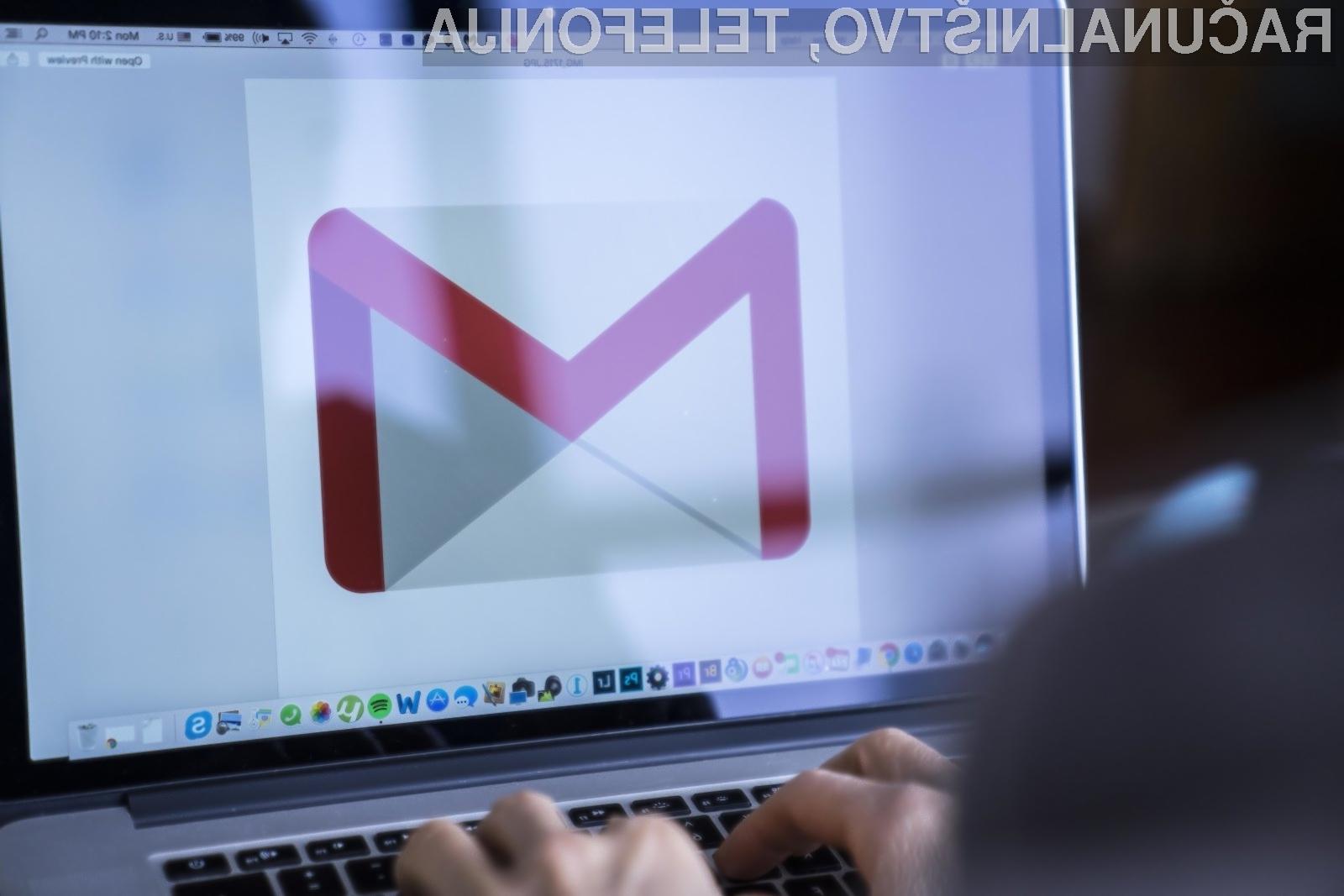 Možnost »Confidential Mode« bo pošiljateljem omogočila, da bodo prejemniku onemogočili posredovanje, kopiranje, prenašanje ali tiskanje določenih elektronskih sporočil.