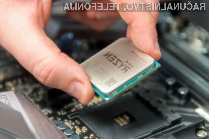 Procesor AMD Ryzen 7 2700X se navija kot za stavo!