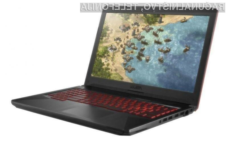 Prenosni računalnik Asus TUF Gaming FX504 bo zagotovo kos tudi najzahtevnejšim igram!