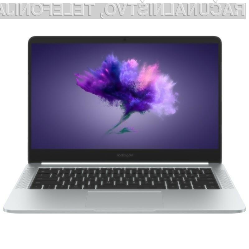 Ultraprenosnik Huawei Honor MagicBook preprosto nima konkurence!